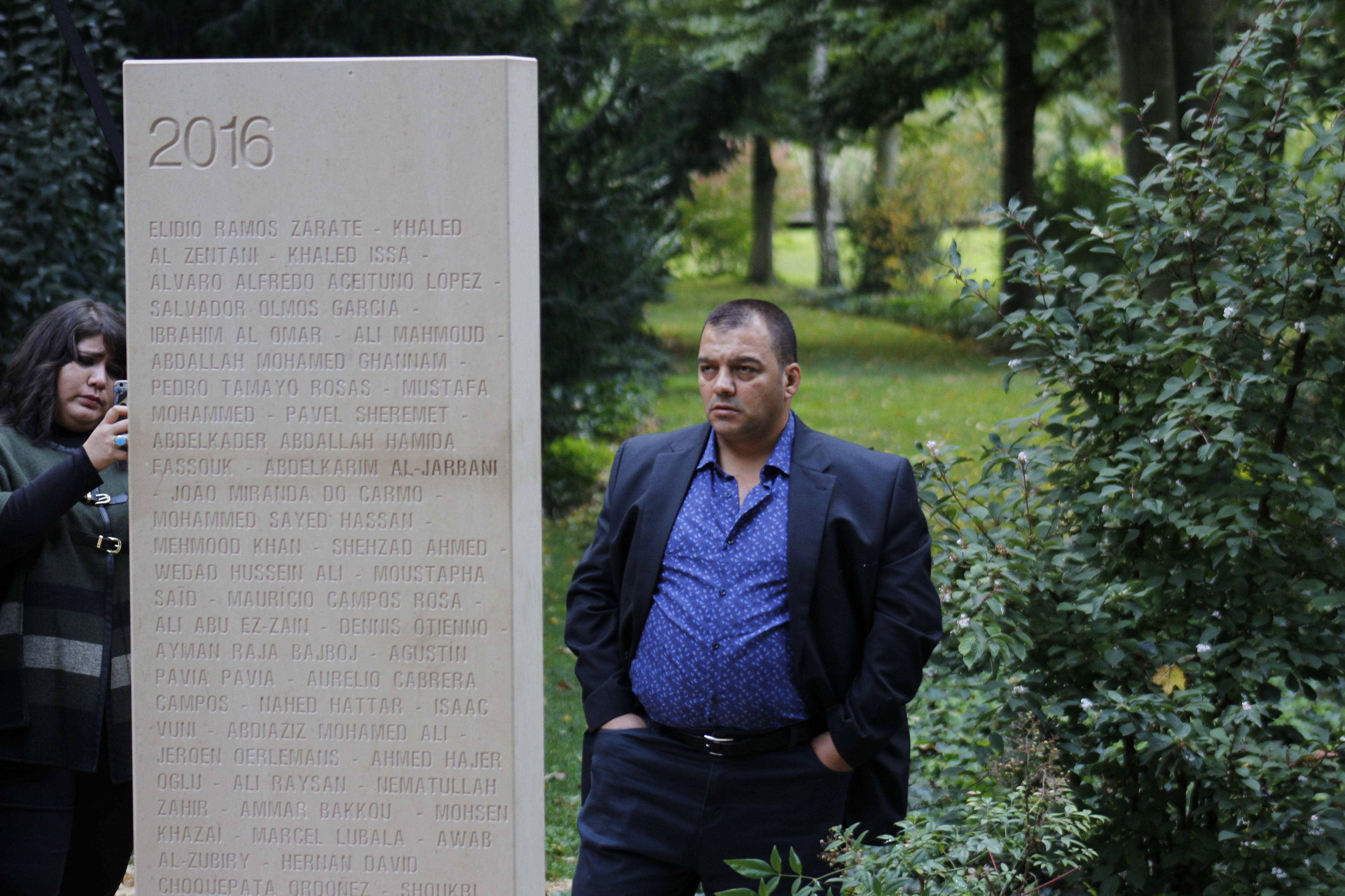 Au Mémorial des reporters